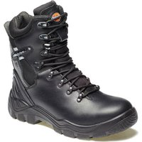 Dickies Mens Quebec Lined Safety Boots Black Size 8
