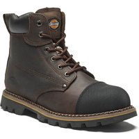 Dickies Mens Crawford Safety Boots Brown Size 8