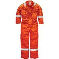 Dickies Mens Flame Retardant Overall Orange 60 33