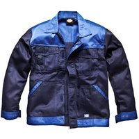 Dickies Mens Industry 300 Two Tone Jacket Navy / Royal Blue 2XL
