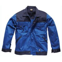 Dickies Mens Industry 300 Two Tone Jacket Royal Blue / Navy 2XL