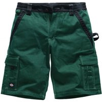Dickies Mens Industry 300 Two Tone Shorts Green / Black 42