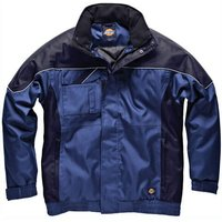 Dickies Mens Industry 300 Winter Jacket Royal Blue / Navy XL
