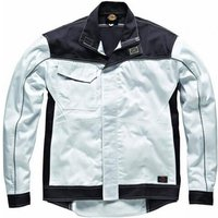 Dickies Mens Industry 260 Jacket White / Grey 2XL