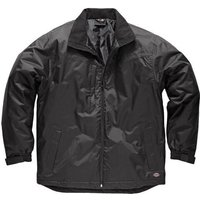 Dickies Mens Fulton Contract Waterproof Jacket Black S