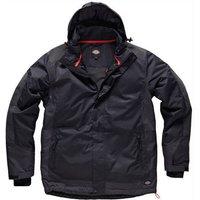 Dickies Mens Thornley Hooded Jacket Black 2XL