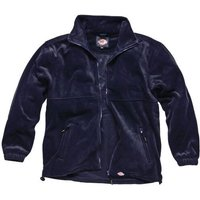 Dickies Mens Seville Fleece Jacket Navy L