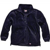 Dickies Mens Seville Fleece Jacket Navy 3XL