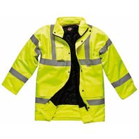 Dickies Mens High Vis Motorway Safety Jacket Orange M