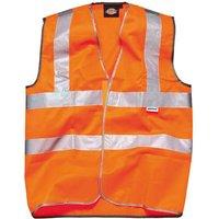 Dickies High Vis Safety Highway Waistcoat Orange XL