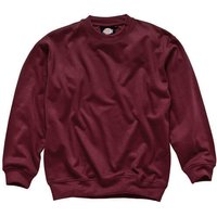 Dickies Mens Crew Neck Sweatshirt Burgundy XL