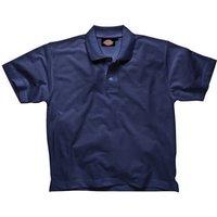 Dickies Mens Short Sleeve Polo Shirt Navy 2XL