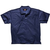 Dickies Mens Short Sleeve Polo Shirt Navy L