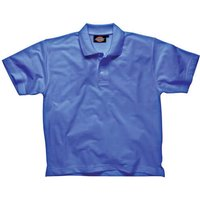 Dickies Mens Short Sleeve Polo Shirt Royal Blue 2XL
