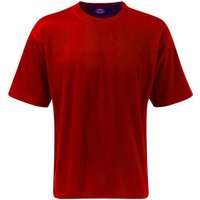 Dickies Mens Crew T Shirt Red 2XL