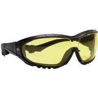 Dickies Interchangeable Frame Safety Goggles Black Amber