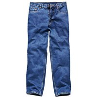 Dickies Mens Stonewashed Jeans Blue 38 33