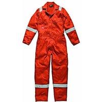 Dickies Mens Lightweight Cotton Overalls Orange L