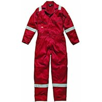 Dickies Mens Cotton Overalls Red 4XL