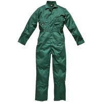 Dickies Mens Redhawk Stud Front Overall Lincoln Green 46 30