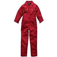 "Dickies Junior Redhawk Overalls Red 24"""