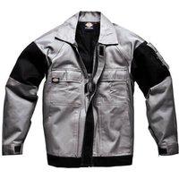 Dickies Mens Grafter Duo Tone Jacket Grey/ Black 2XL