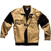 Dickies Mens Grafter Duo Tone Jacket Khaki / Black 2XL