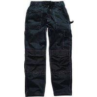 Dickies Mens Grafter Duo Tone 290 Trousers Black 42 32