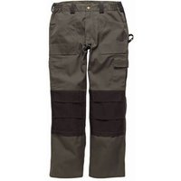 Dickies Mens Grafter Duo Tone 290 Trousers Olive / Black 46