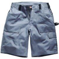 Dickies Mens Grafter Duo Tone Shorts Grey / Black 40