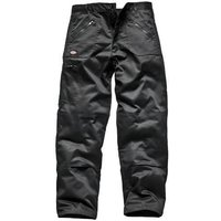 "Dickies Mens Redhawk Action Trousers Black 44"" 33"""