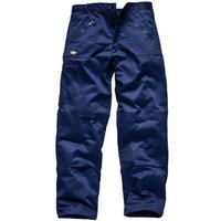 "Dickies Mens Redhawk Action Trousers Navy Blue 42"" 33"""