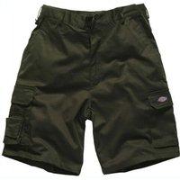 "Dickies Mens Redhawk Cargo Shorts Green 30"""