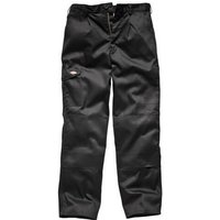 Dickies Mens Redhawk Super Trousers Black 28 30