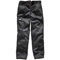 "Dickies Mens Redhawk Super Trousers Black 44"" 33"""