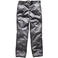 "Dickies Mens Redhawk Super Trousers Grey 42"" 33"""