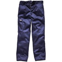 "Dickies Mens Redhawk Super Trousers Navy Blue 44"" 33"""