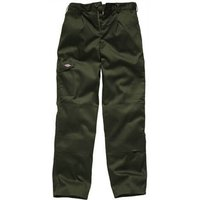 "Dickies Mens Redhawk Super Trousers Olive Green 42"" 33"""