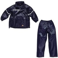 Dickies Childrens Vermont Waterproof Suit Navy 7 - 8