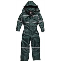 Dickies Childrens Waterproof Mission Padded Overalls Green Size 9 - 10