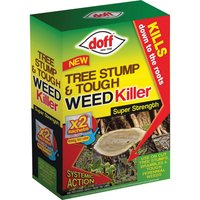 Doff Tree Stump & Tough Weed Killer Sachets Pack of 2