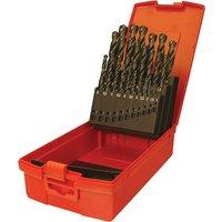 Dormer A190-201 19 Piece HSS Jobber Drill Bit Set