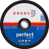Dronco A 24 R PERFECT Flat Metal Cutting Disc 100mm Pack of 1