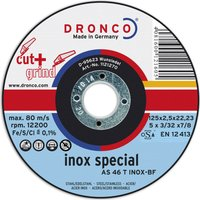 Dronco AS 46 T INOX Thin Stainless Steel Cutting Disc 125mm Pack of 1