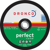 Dronco C 24 R PERFECT Flat Stone Cutting Disc 300mm 3 2mm 22mm