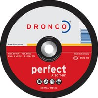Dronco A 30 T PERFECT Depressed Metal Grinding Disc 230mm Pack of 1