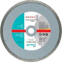 Dronco PERFECT GRF Stone Diamond Dry Cutting Disc 200mm 2.4mm 22mm
