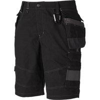 "Dickies Mens Eisenhower Premium Shorts Black 28"""