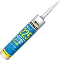 Everbuild Industrial and Glazing Silicone White 310ml