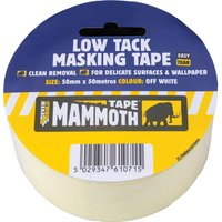 Everbuild Low Tack Masking Tape 25mm 25m